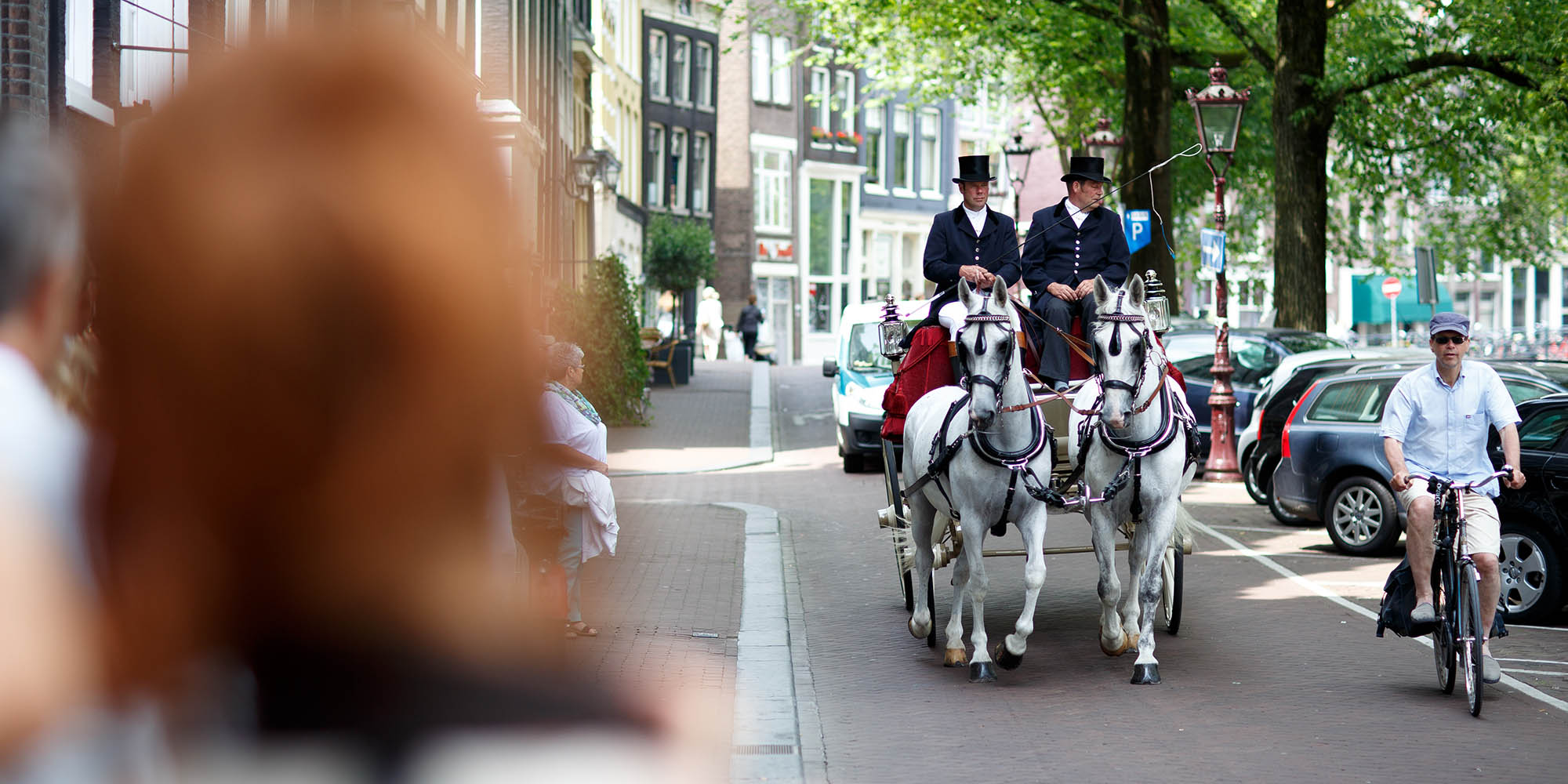 Amsterdam wedding at College Hotel