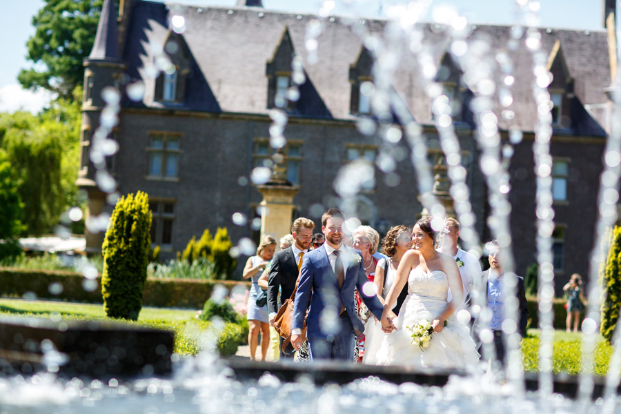 wedding photography at Castle Terworm, Heerlen Limburg