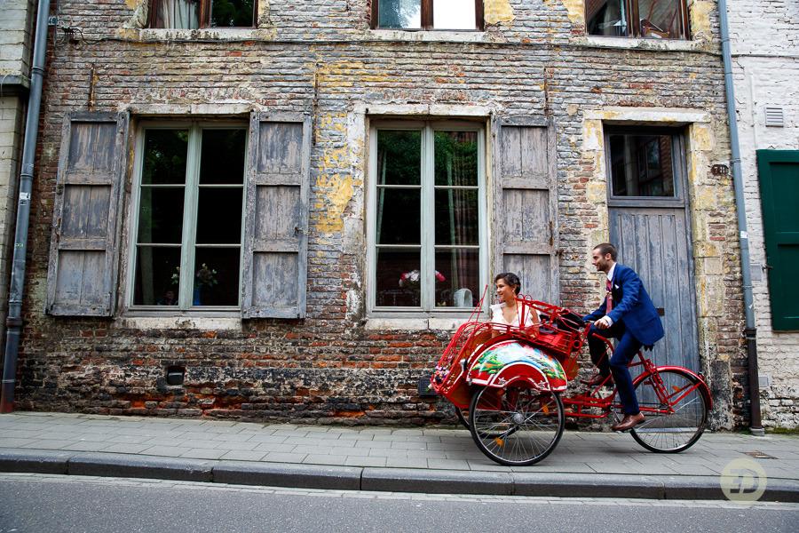 Ellen en Wim Leuven Belgie bruiloft Evert Doorn 10