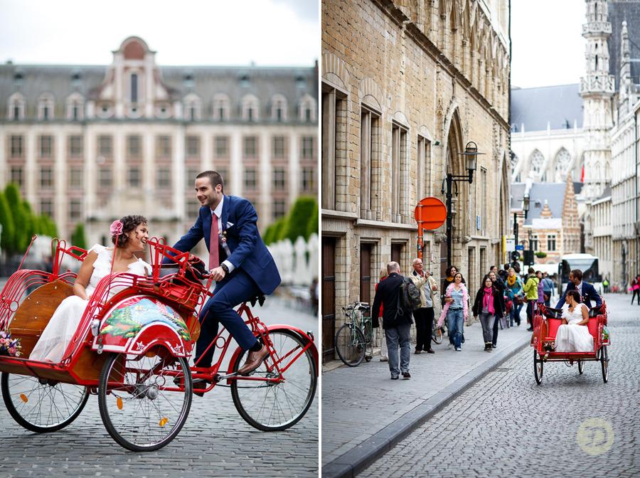 Ellen en Wim Leuven Belgie bruiloft Evert Doorn 11