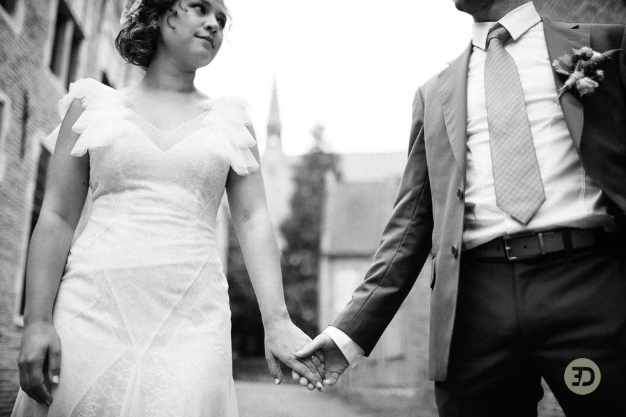 Ellen en Wim Leuven Belgie bruiloft Evert Doorn 14