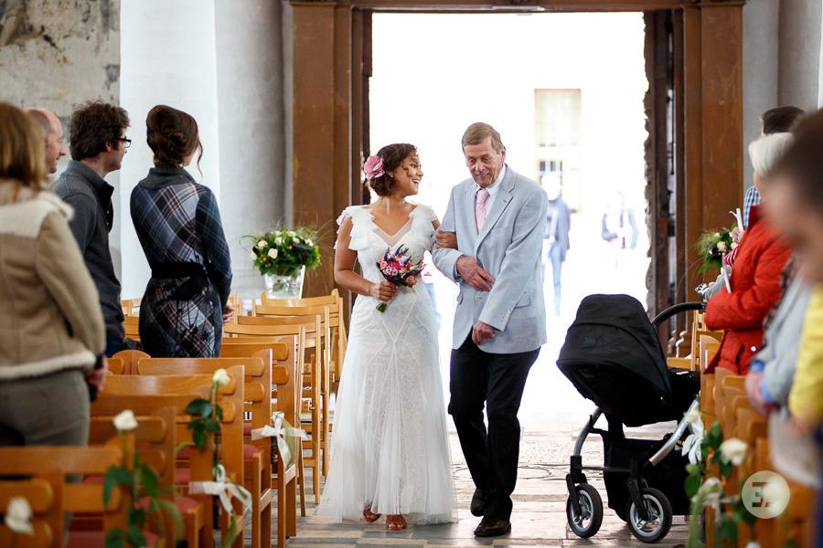 Ellen en Wim Leuven Belgie bruiloft Evert Doorn 18