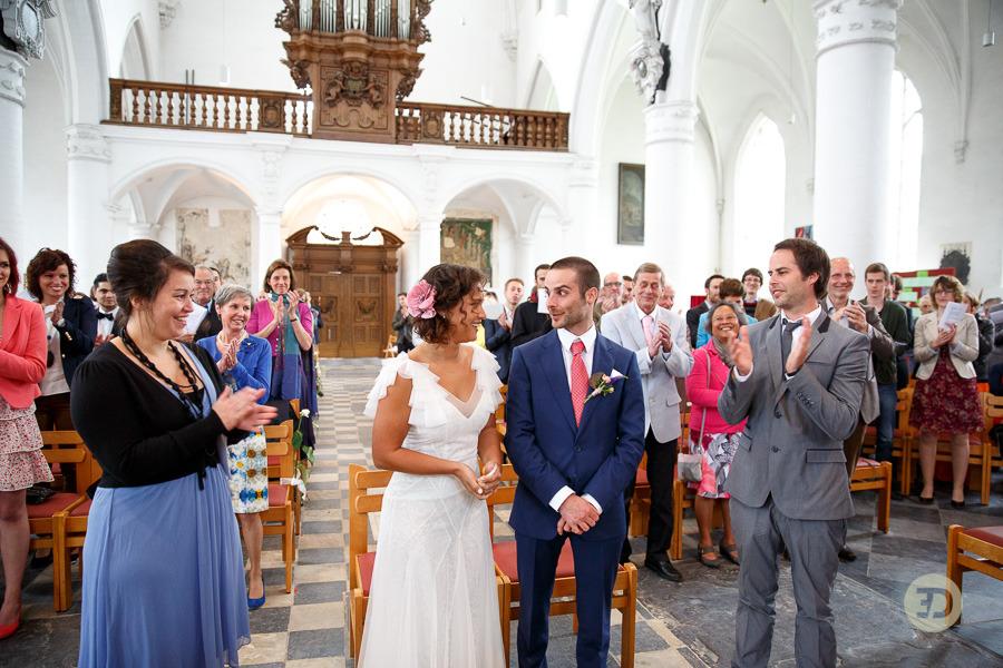 Ellen en Wim Leuven Belgie bruiloft Evert Doorn 22