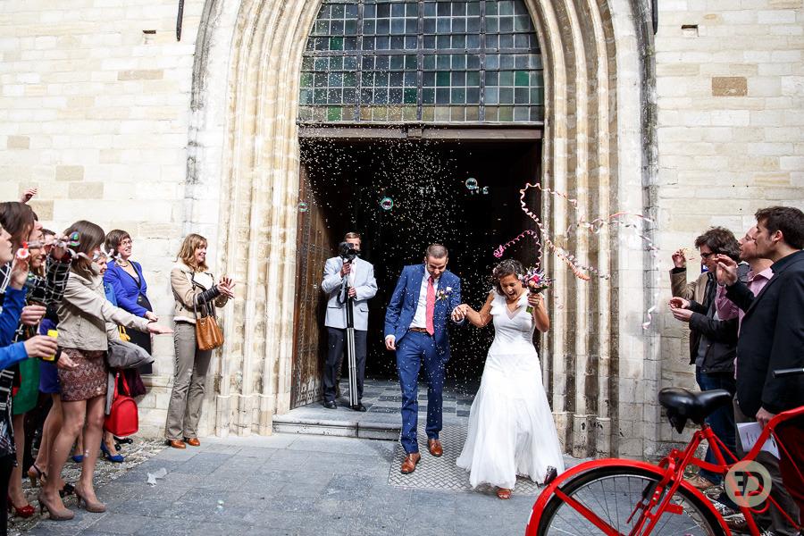 Ellen en Wim Leuven Belgie bruiloft Evert Doorn 24