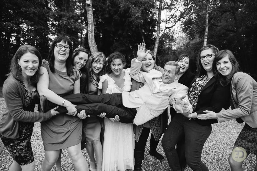 Ellen en Wim Leuven Belgie bruiloft Evert Doorn 29