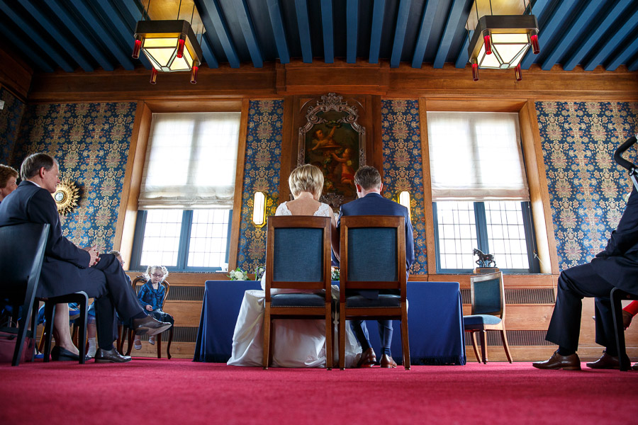 Dutch wedding old town hall Schiedam