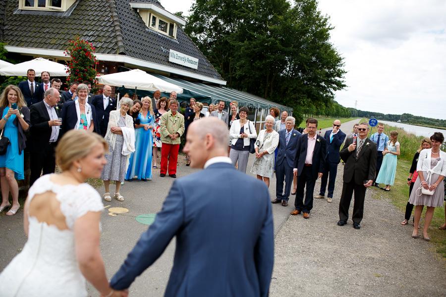 bruiloft trouwfotograaf Spaarndam en Velsen Villa Zomerdijk 16