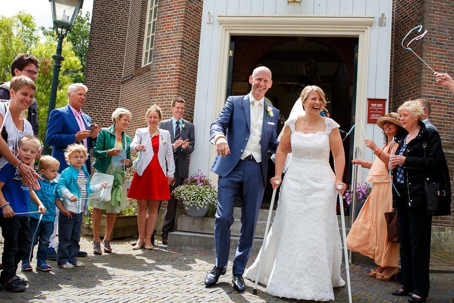 bruiloft trouwfotograaf Spaarndam en Velsen Villa Zomerdijk 26