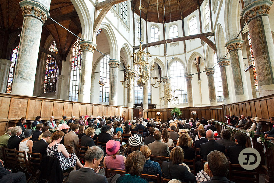 Old Church Wedding Photography Netherlands Amsterdam