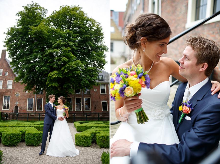 trouwfotografie bruidsfotografie Groningen Paalkoepel en Pepergasthuiskerk 11