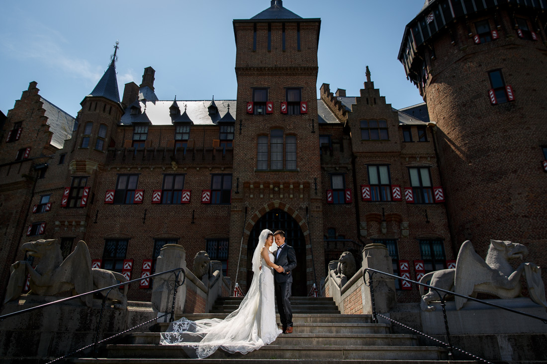 Chinese engagement shoot castle de Haar Amsterdam Holland Netherlands wedding photographer Evert Doorn 02