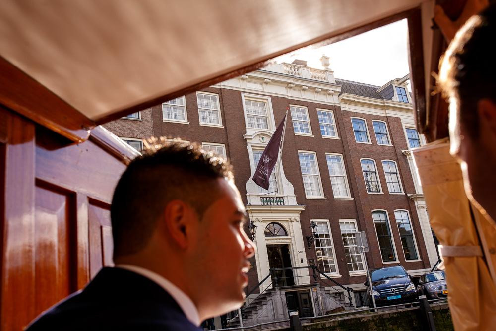 wedding photography Waldorf Astoria Amsterdam hotel 03