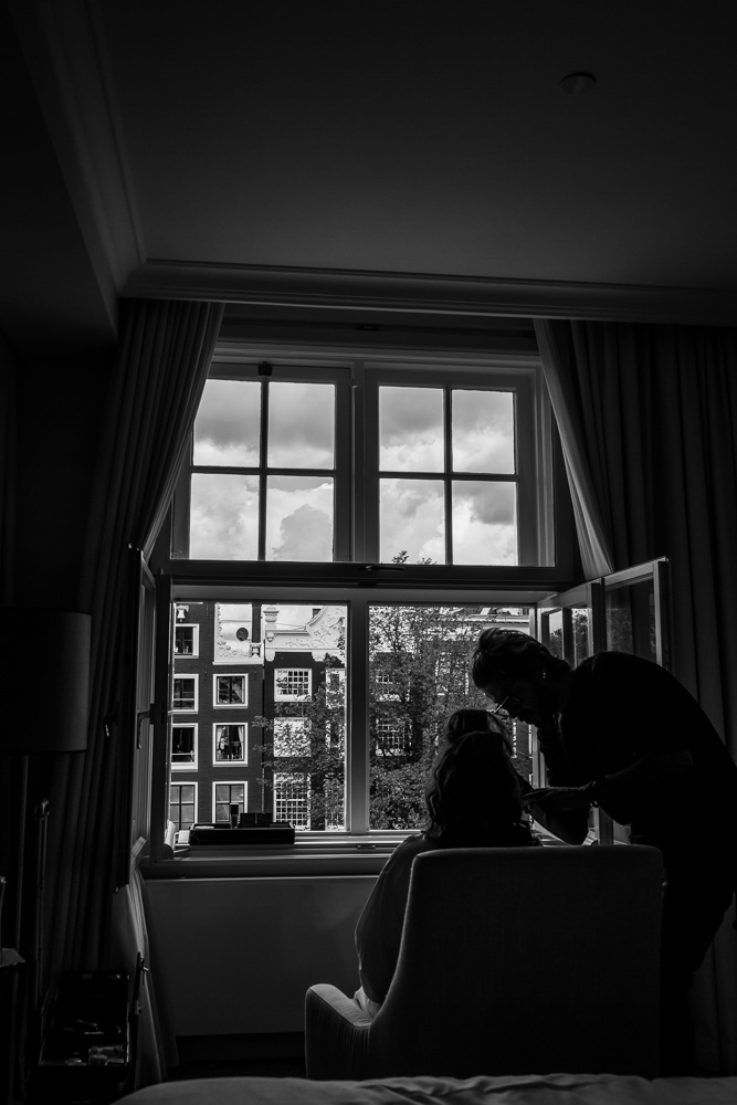 wedding photography Waldorf Astoria Amsterdam hotel 04