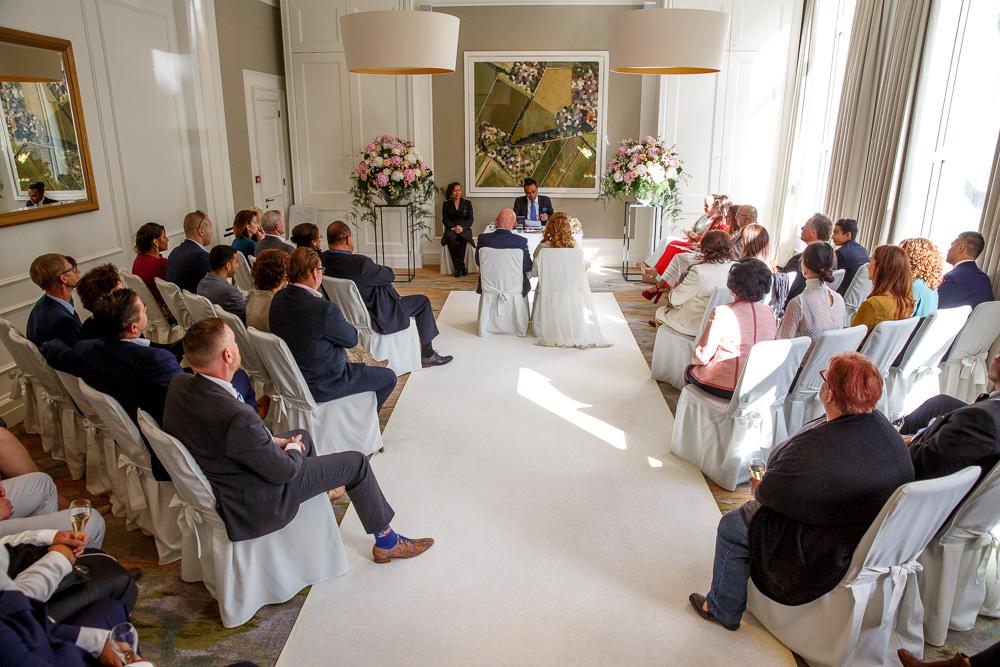 wedding photography Waldorf Astoria Amsterdam hotel 07