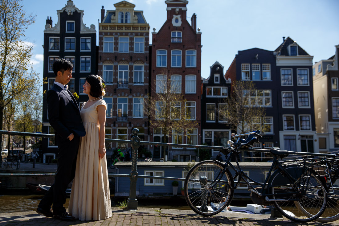 engagement shoot Amsterdam Tulips Keukenhof Wedding photographer netherlands Evert Doorn-3