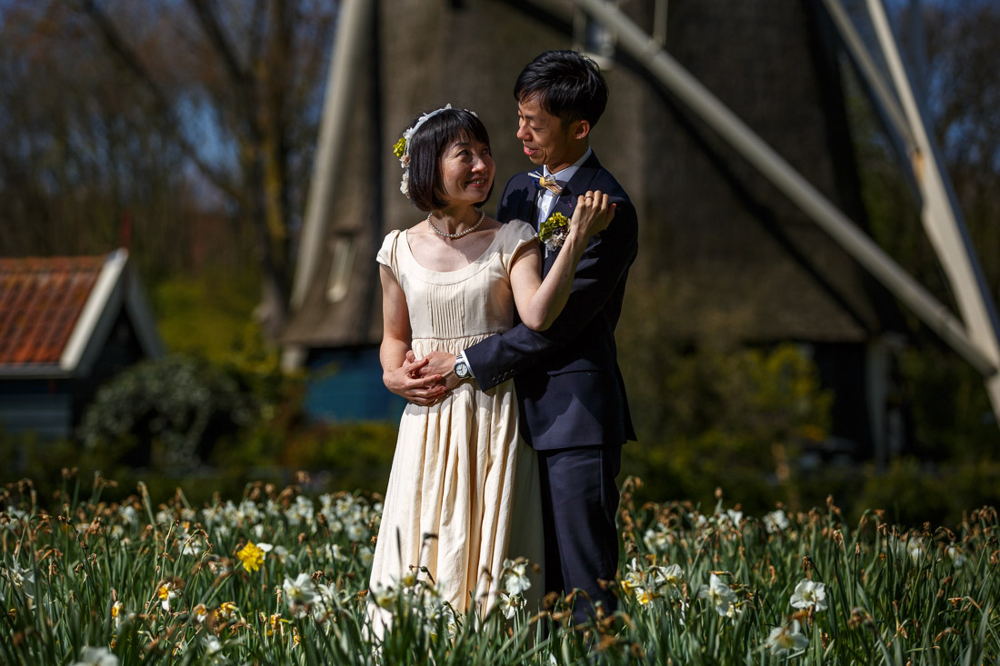 engagement shoot Amsterdam Tulips Keukenhof Wedding photographer netherlands Evert Doorn-6