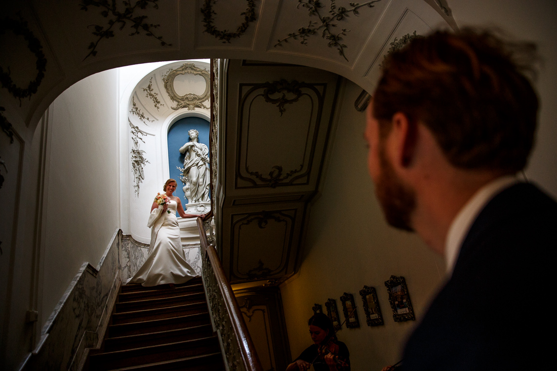 wedding at Landgoed Waterland the Netherlands by wedding photographer Evert Doorn 04