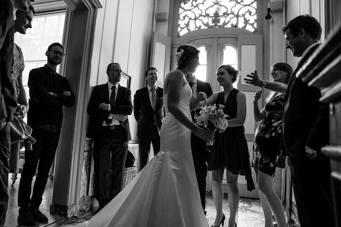 wedding at Landgoed Waterland the Netherlands by wedding photographer Evert Doorn 05