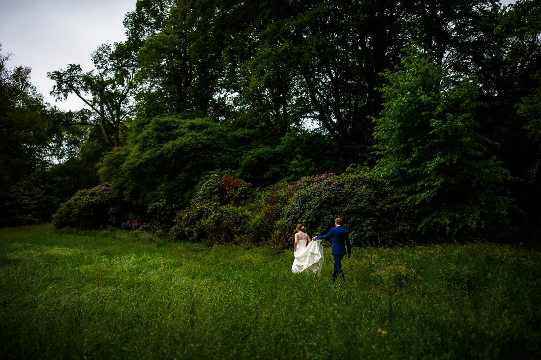 wedding at Landgoed Waterland the Netherlands by wedding photographer Evert Doorn 07