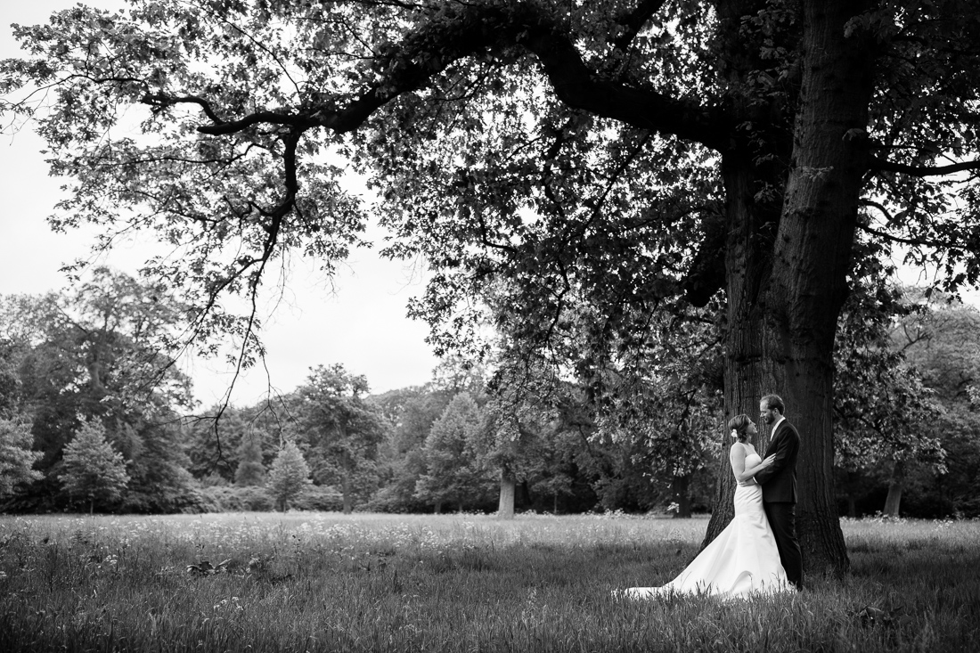 wedding at Landgoed Waterland the Netherlands by wedding photographer Evert Doorn 08