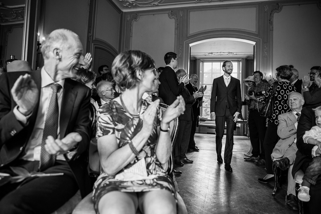 wedding at Landgoed Waterland the Netherlands by wedding photographer Evert Doorn 10