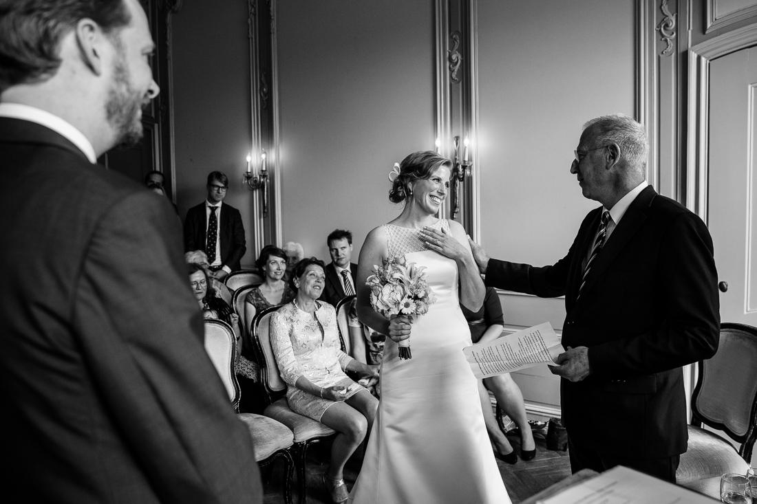 wedding at Landgoed Waterland the Netherlands by wedding photographer Evert Doorn 11