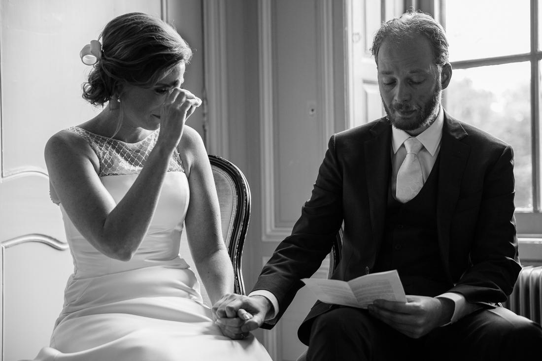 wedding at Landgoed Waterland the Netherlands by wedding photographer Evert Doorn 13
