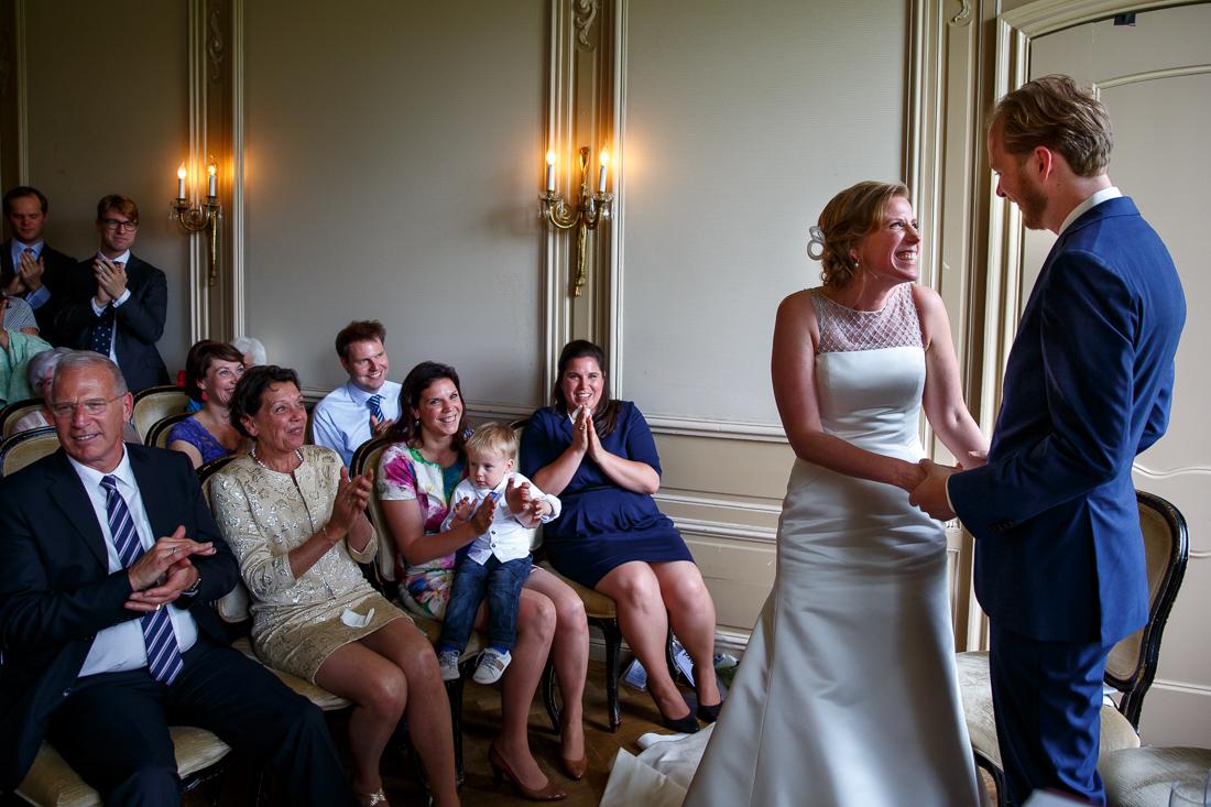 wedding at Landgoed Waterland the Netherlands by wedding photographer Evert Doorn 14