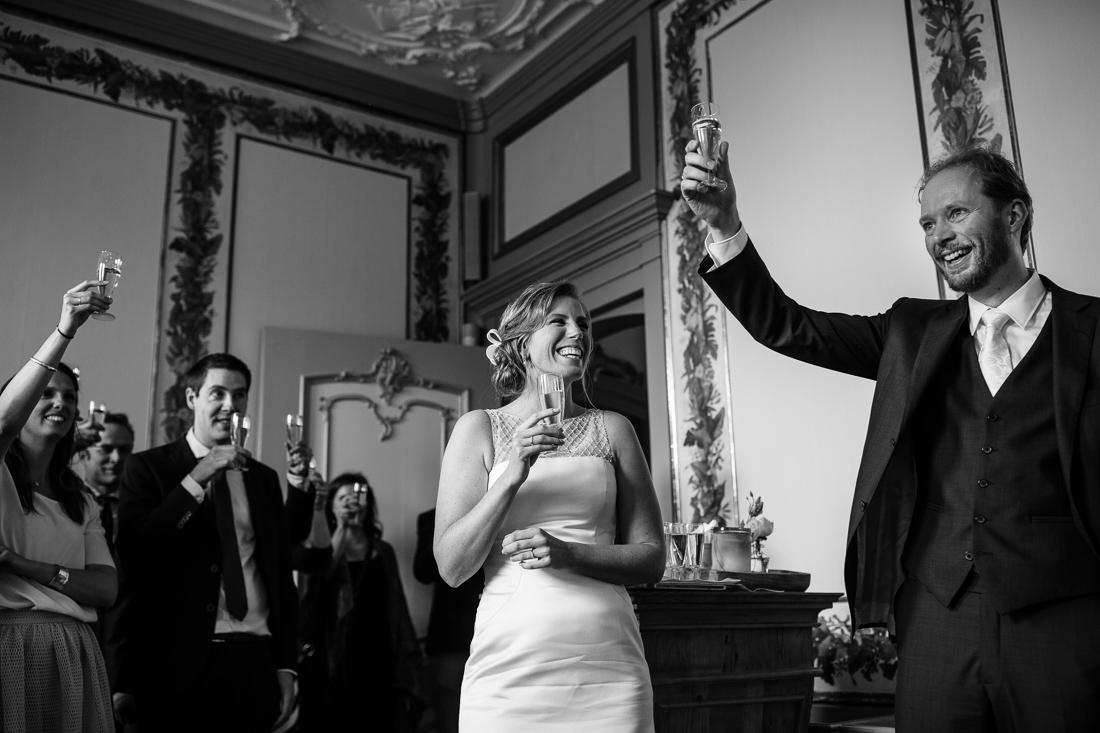wedding at Landgoed Waterland the Netherlands by wedding photographer Evert Doorn 16
