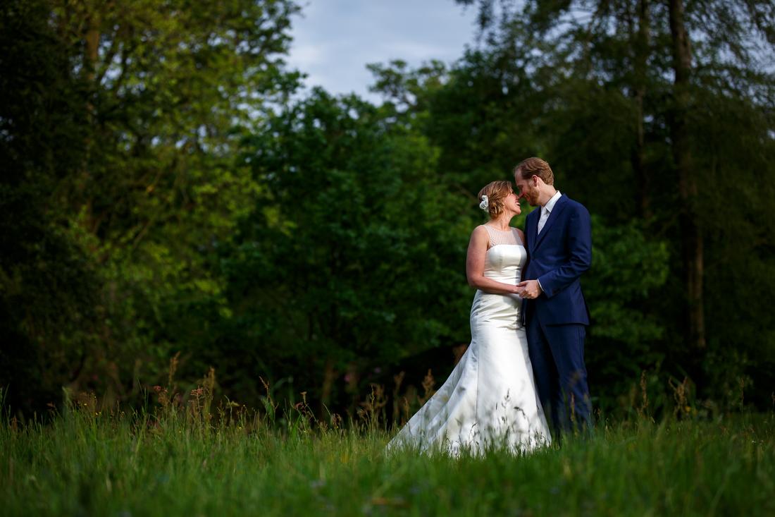wedding at Landgoed Waterland the Netherlands by wedding photographer Evert Doorn 24